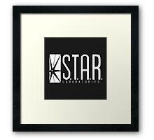 S.T.A.R Labs - logo design Framed Print