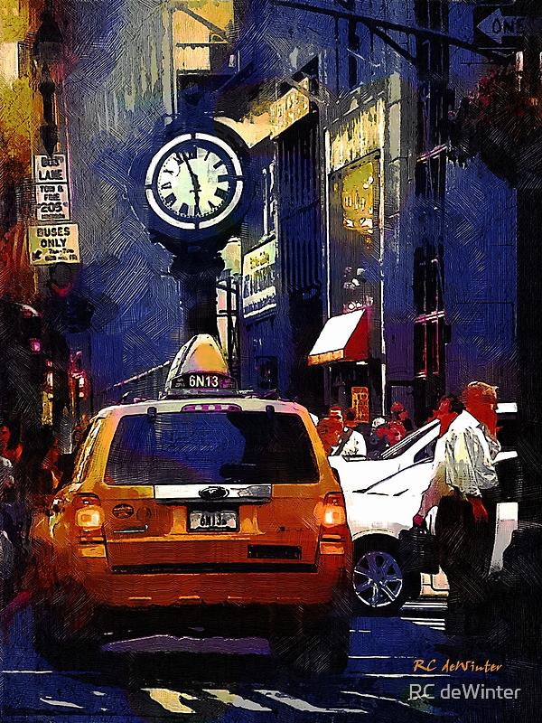 5th Avenue Meltdown by RC deWinter