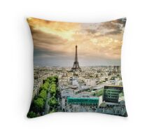 Paris 40 Throw Pillow