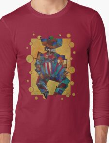 The Accordian Player Long Sleeve T-Shirt