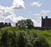 Brough Castle by Tom Gomez