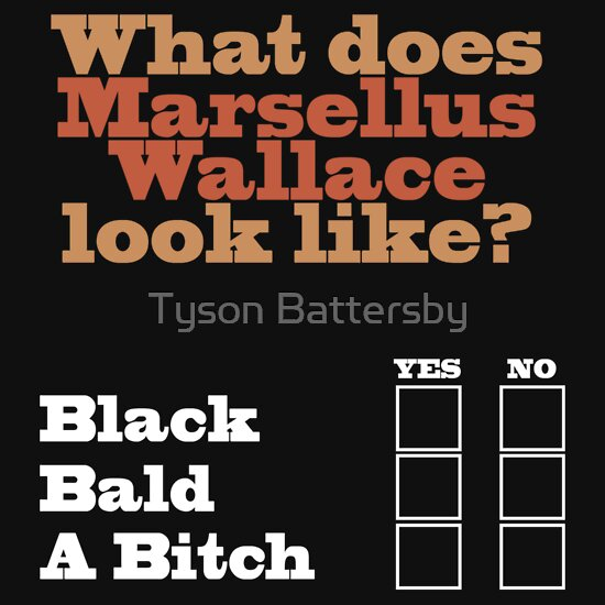 What does marsellus wallace look like