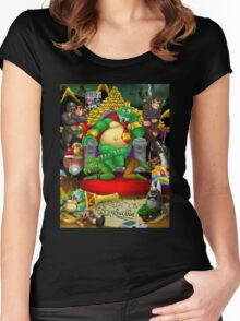 Bring Back K. Rool! Women's Fitted Scoop T-Shirt