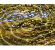 (Digital calendar) Water Abstract 2 Photographic Print