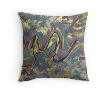 Movement in Life Throw Pillow