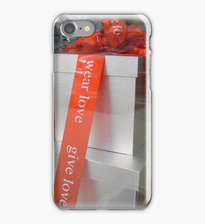 Give Love, Wear Love iPhone Case/Skin
