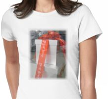 Give Love, Wear Love Womens Fitted T-Shirt