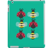 Ladybugs and bees iPad Case/Skin