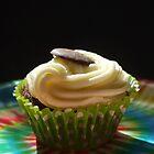 tiedye cupcake by Babz Runcie
