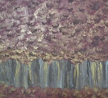 Forest Through the Trees by Sarah  Scherer Memorial