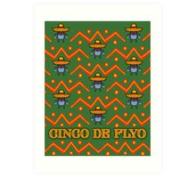 Cinco De Flyo Christmas Sweater Design Art Print