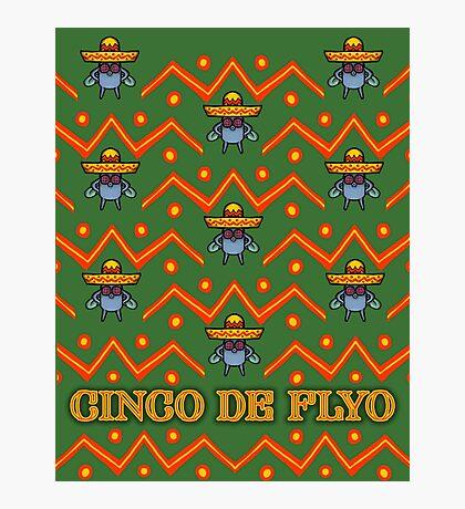 Cinco De Flyo Christmas Sweater Design Photographic Print