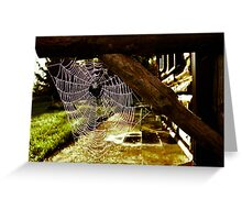 Spider House Greeting Card