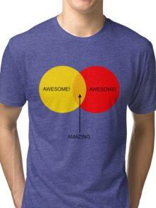 Venn Boobs! Tri-blend T-Shirt