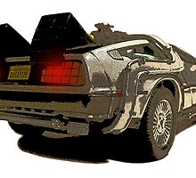 Back To The Future - Delorean by GrahamArmour1