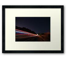 I Drove All Night II Framed Print