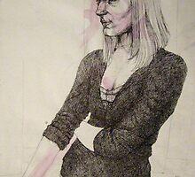 selfportrait by Natasa Ristic