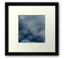 GPSIIF10 lights up the sky Framed Print