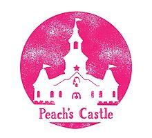 Princess Peach's Castle Super Mario 64 by pidesignprints