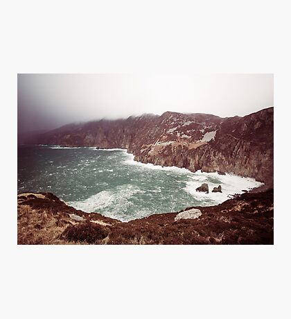 Sliabh Liag in Winter Photographic Print