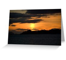 Dunmanus Bay Sunrise Sunset in Ireland 11 Greeting Card