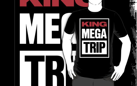 King Megatrip VSW logo (dark shirt version) by Megatrip