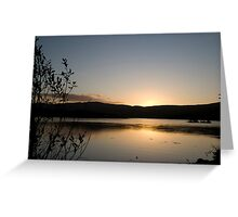 Dunmanus Bay Sunrise Sunset in Ireland 13 Greeting Card