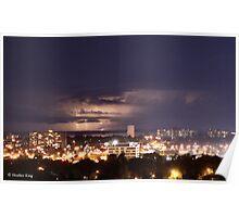 Lightning Over Ottawa Poster