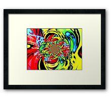 Twisted Graffiti # 8 Framed Print
