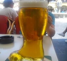 Beer boot by impossiblesong