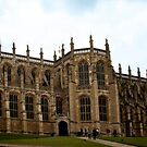St George's Chapel at Windsor Castle by Lisa Knechtel