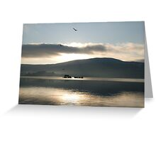 Dunmanus Bay Sunrise Sunset in Ireland 24 Greeting Card