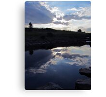 sky - just a reflection Canvas Print