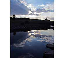 sky - just a reflection Photographic Print