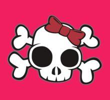 Skull & Crossbones Bow behind by LudlumDesign