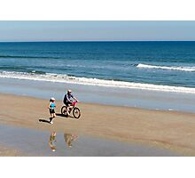 Fit But Fun - St. Augustine Beach Photographic Print