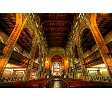 St Mary The Great - The Nave, Cambridge  Photographic Print
