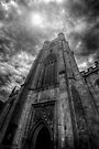 St Mary The Great Church Tower, Cambridge by Yhun Suarez