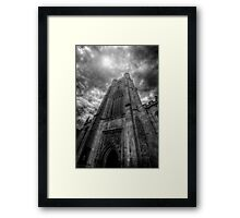 St Mary The Great Church Tower, Cambridge Framed Print