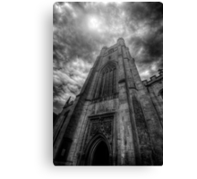 St Mary The Great Church Tower, Cambridge Canvas Print