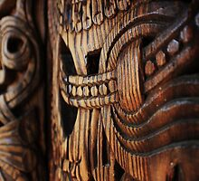 Norwegian Carved Wood by Lindsy Wayt