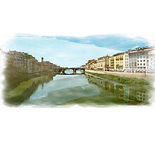 Arno Panorama Photographic Print
