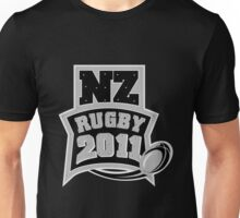Rugby Ball New Zealand 2011 Unisex T-Shirt