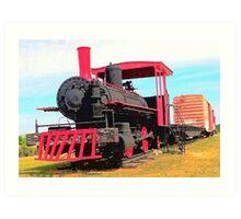 Restored Locomotive Art Print