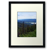 Swan Lake (Montana, USA) Framed Print