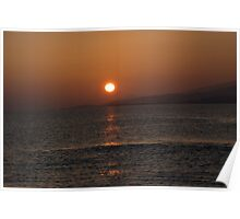 Dunmanus Bay Sunrise Sunset in Ireland 30 Poster