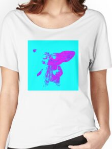 Mogwai - Turquoise/Pink Women's Relaxed Fit T-Shirt
