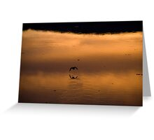 Dunmanus Bay Sunrise Sunset in Ireland 32 Greeting Card