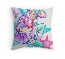 Star EarPhones Throw Pillow