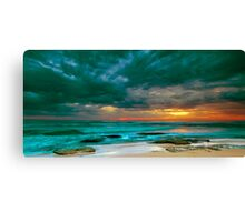 Bateau Bay Sunrise  Canvas Print